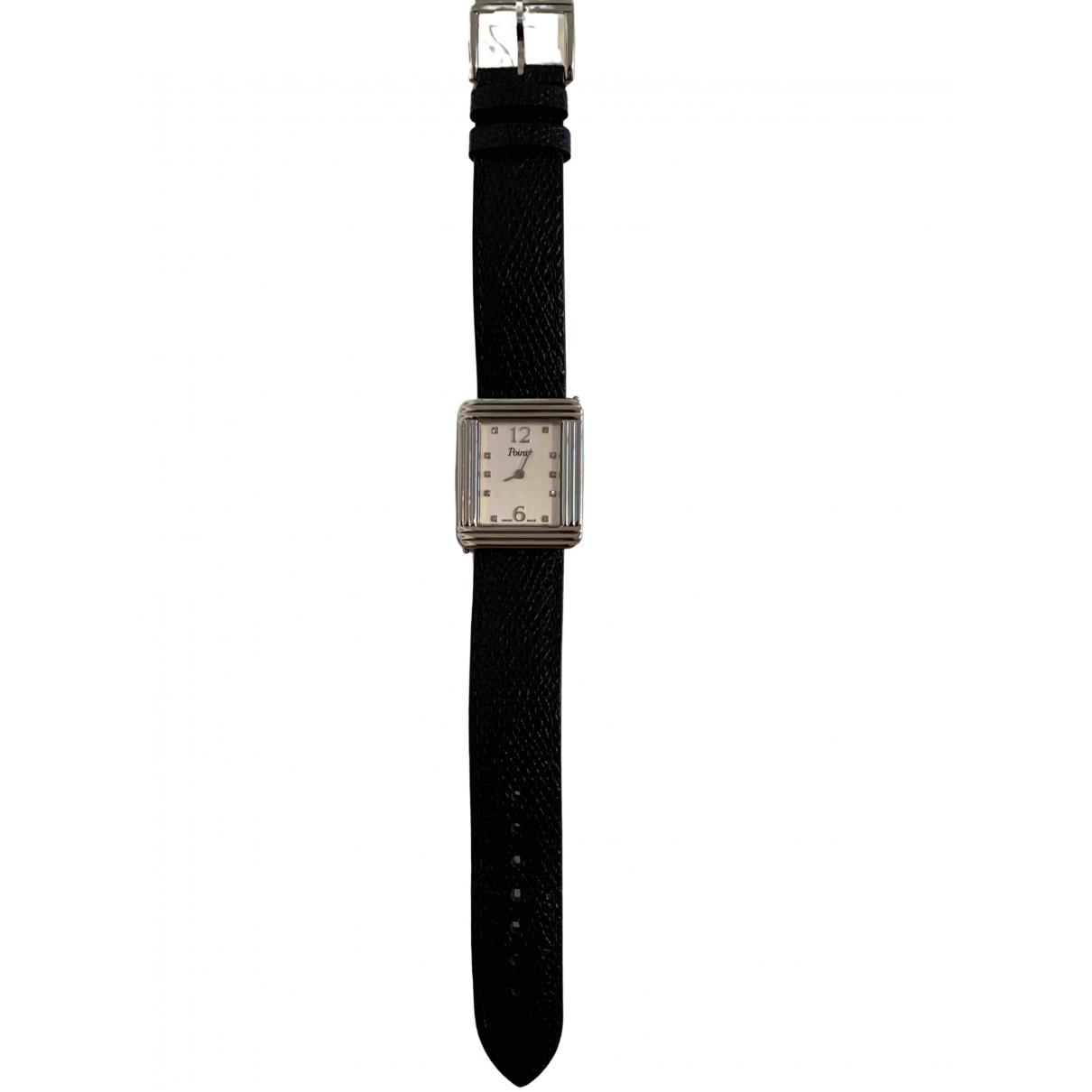 Poiray Ma Premiere Grand Modele Uhr in  Silber Stahl