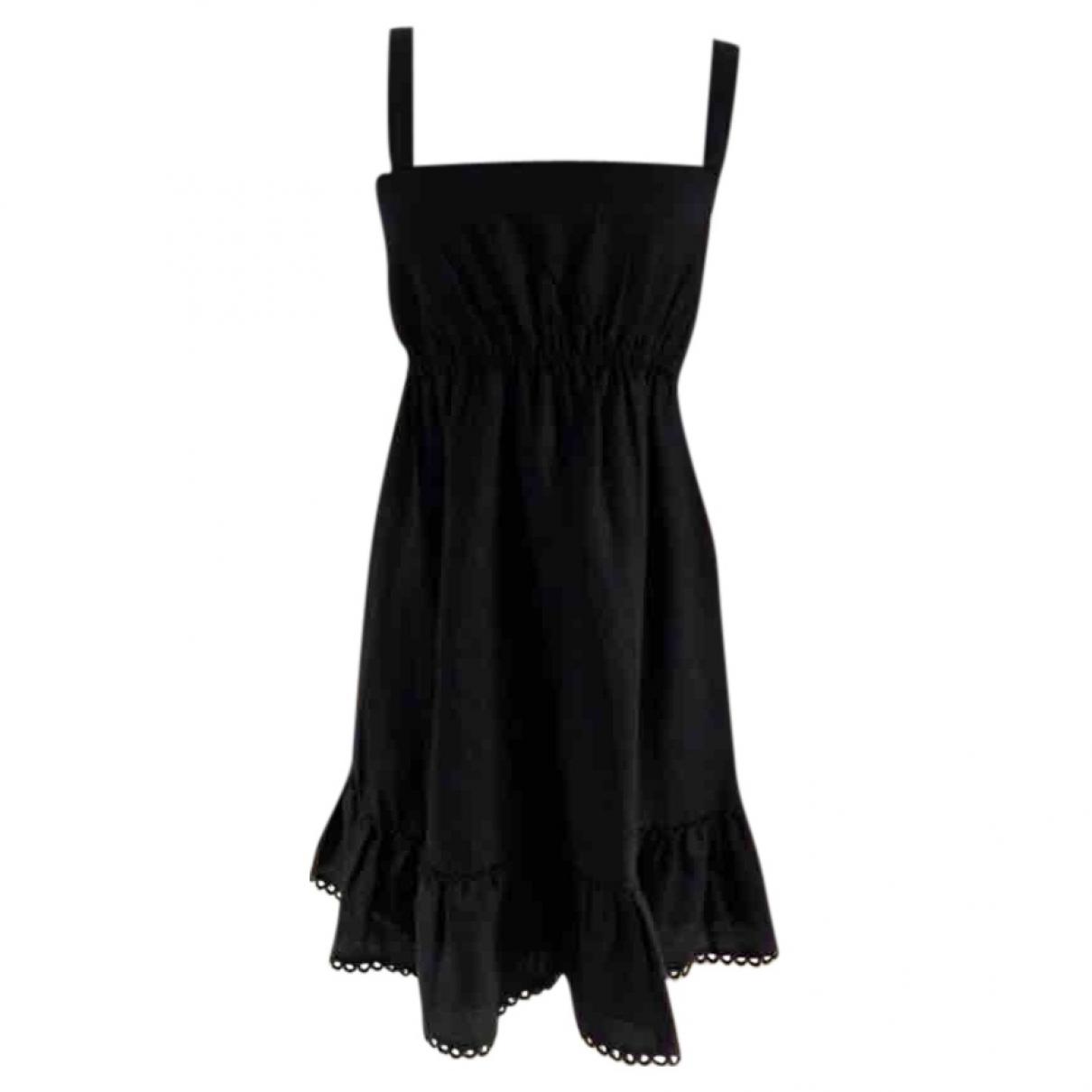 Juicy Couture \N Kleid in  Schwarz Leinen