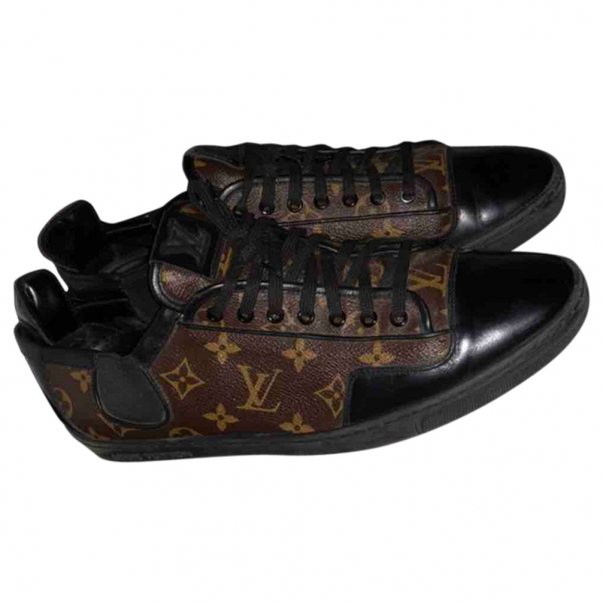 Louis Vuitton \N Brown Cloth Trainers for Men 44 EU