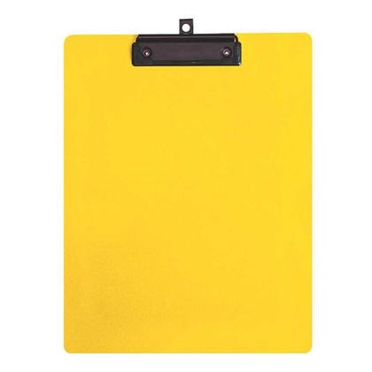 Geo@ taille r edaction de lettres de presse-papiers en plastique - jaune 246983