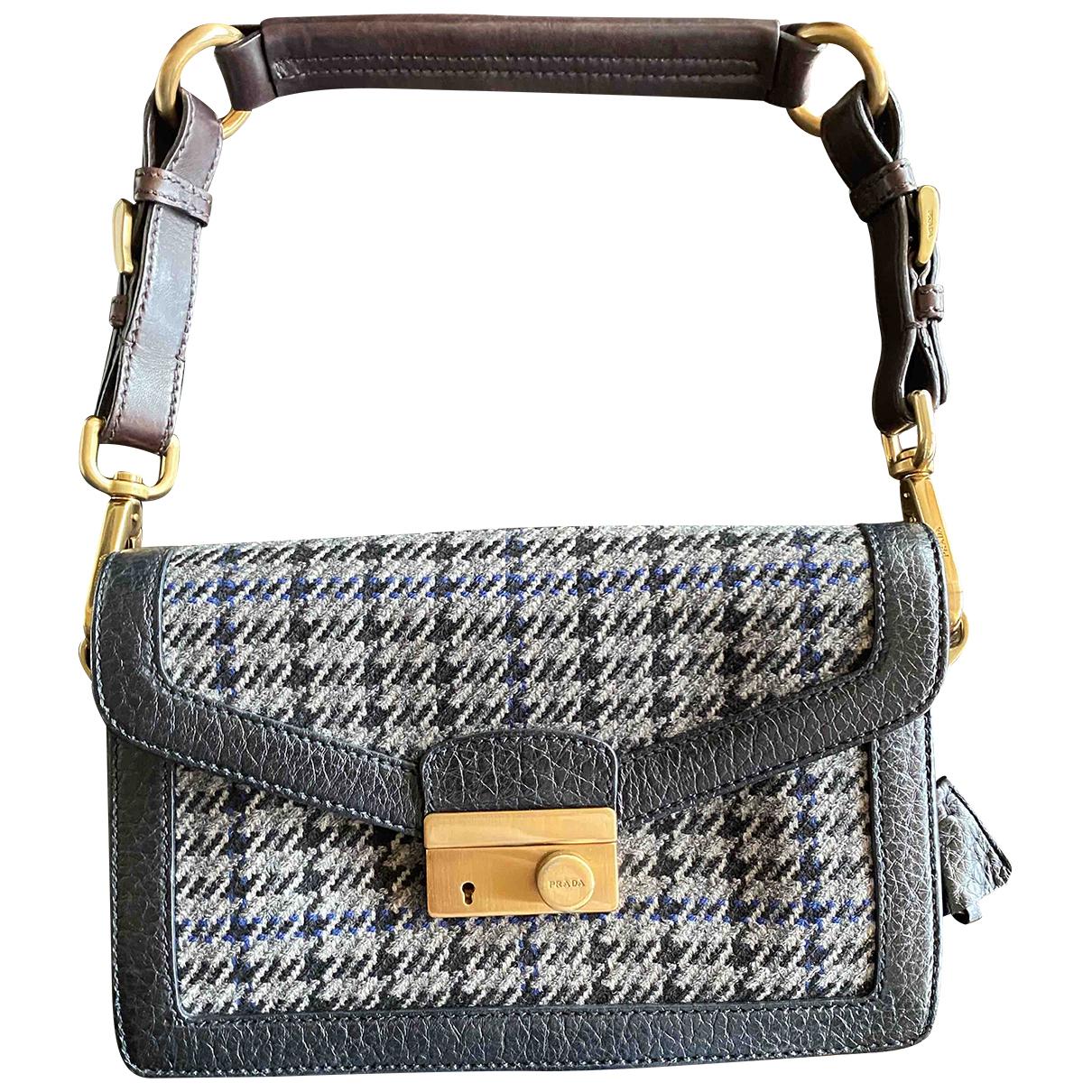Prada \N Black Tweed handbag for Women \N