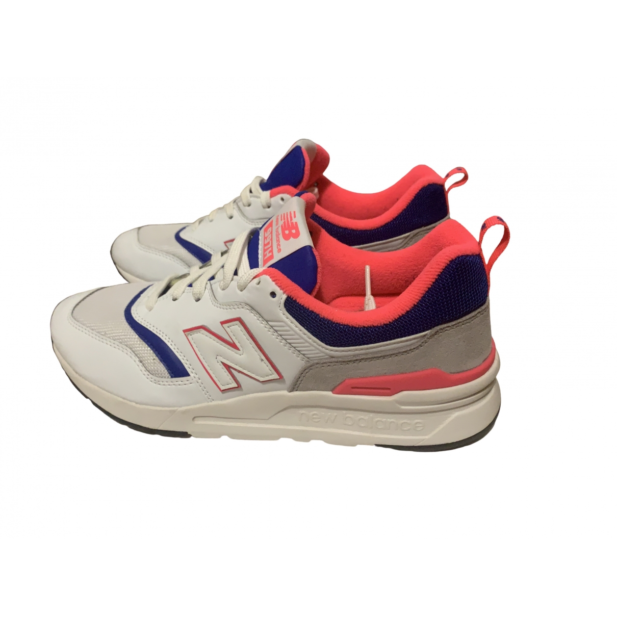 New Balance \N White Patent leather Trainers for Women 41 EU