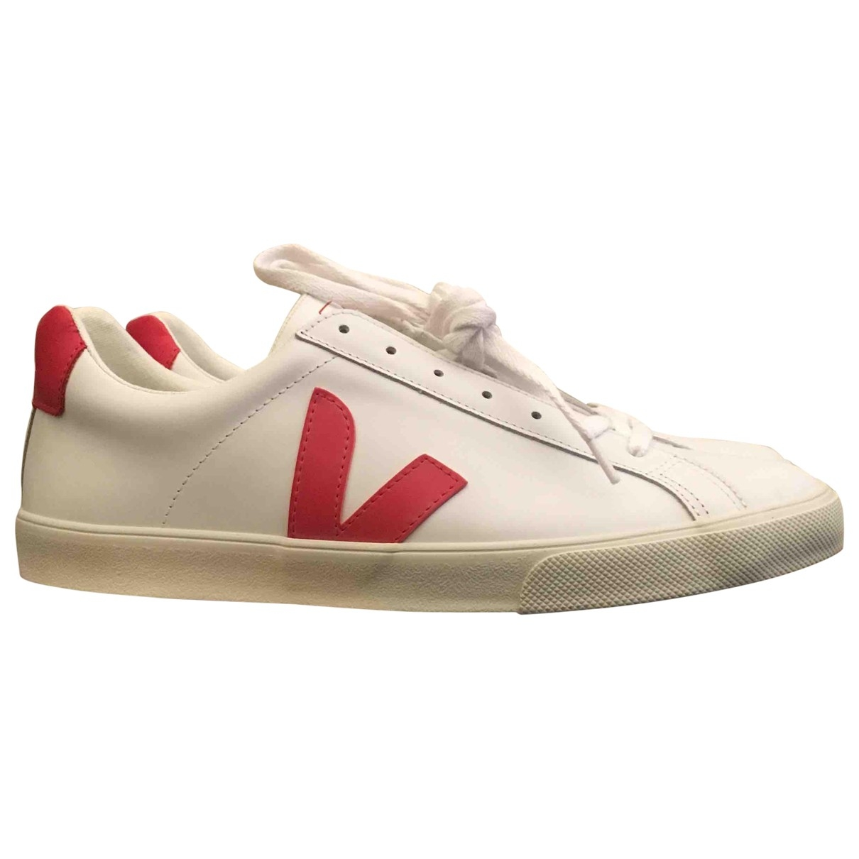 Veja - Baskets   pour homme en cuir - blanc