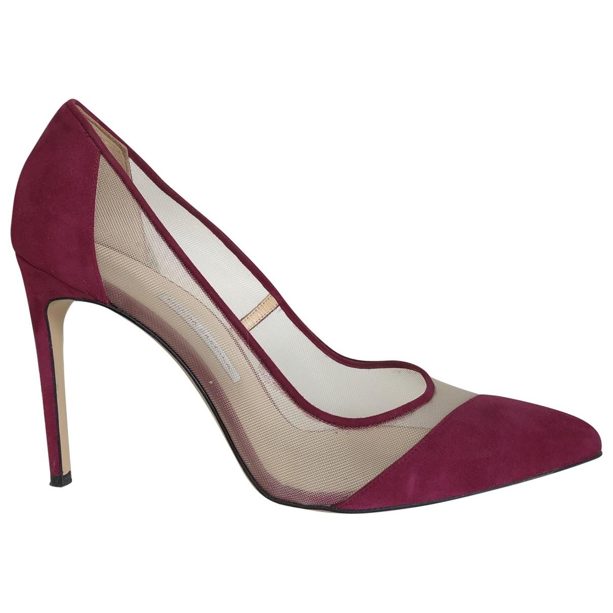 Bionda Castana \N Pink Suede Heels for Women 38.5 EU