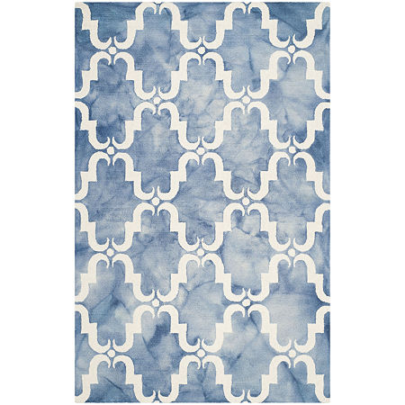 Safavieh Dip Dye Collection Wendell Geometric Area Rug, One Size , Multiple Colors