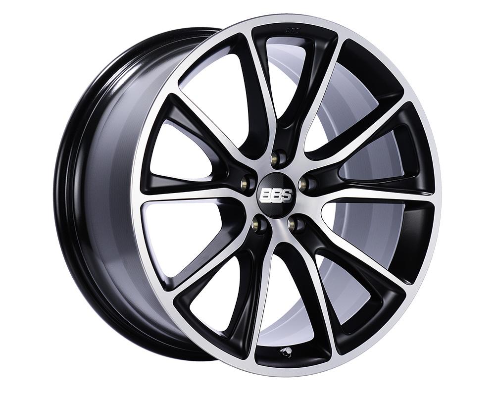 BBS SV Wheel 22x11.5 5x120 38mm Satin Black | Diamond-Cut Face