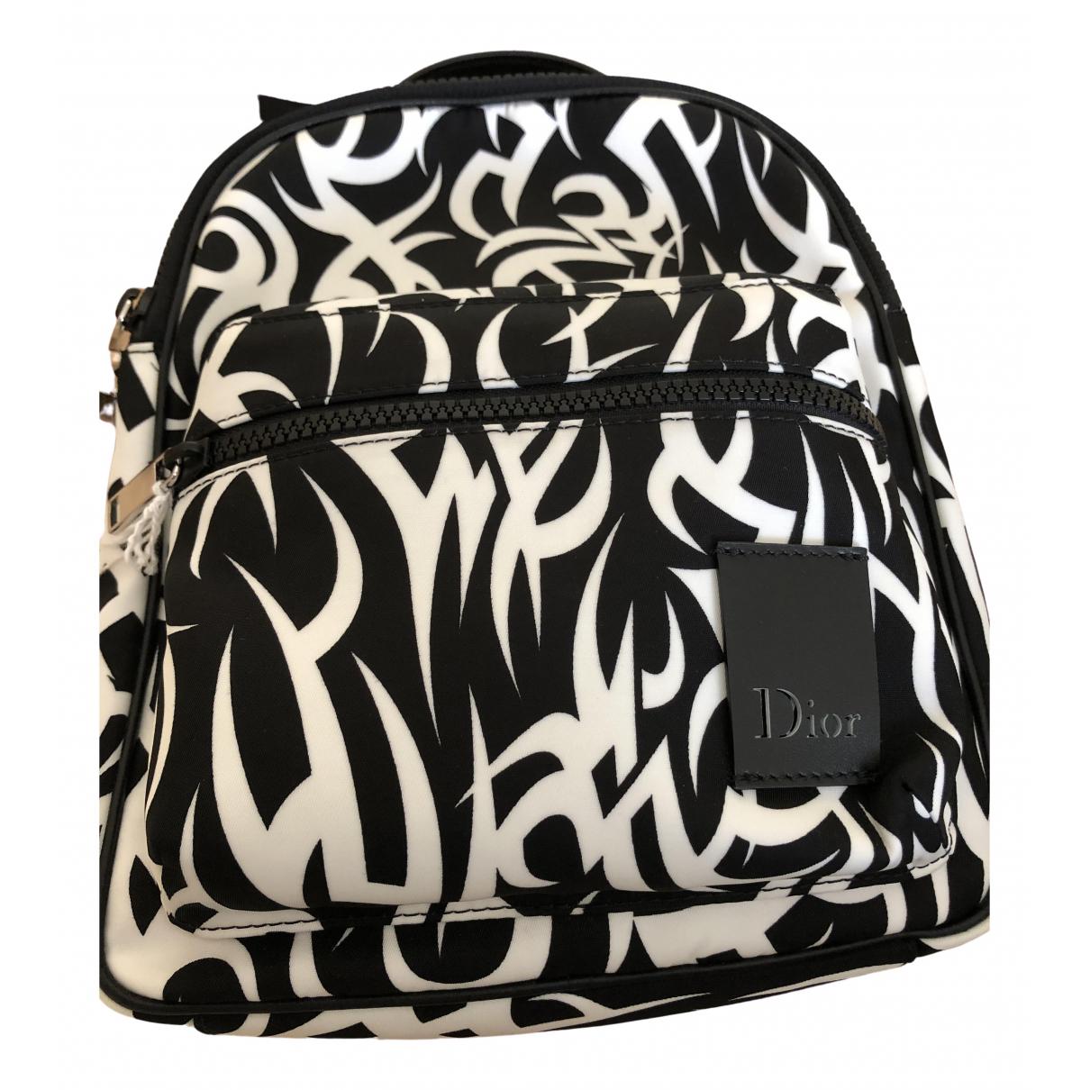 Dior \N Black Cloth bag for Men \N