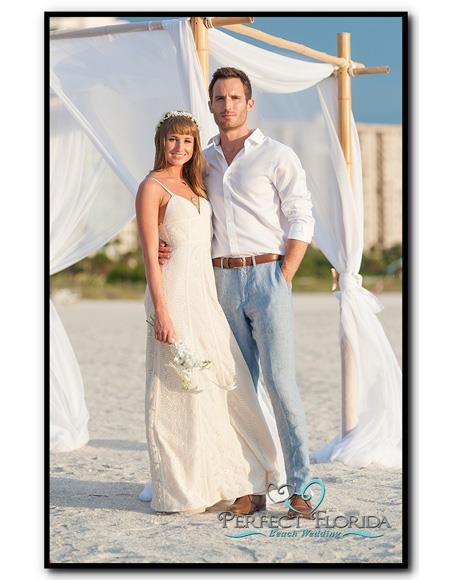 Mens Beach Wedding Attire Suit Menswear Gray ~ White 199