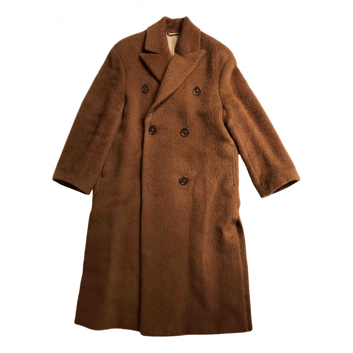 Acne Studios - Manteau   pour femme en laine - marron