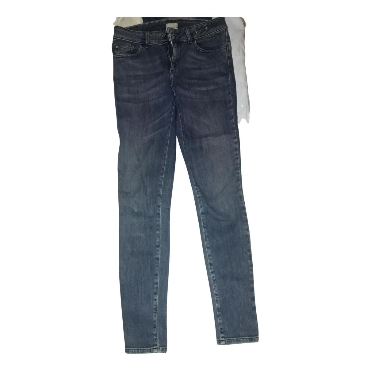 Marella \N Blue Denim - Jeans Trousers for Women 42 IT