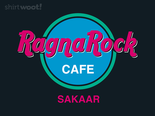 Ragnarock Cafe T Shirt