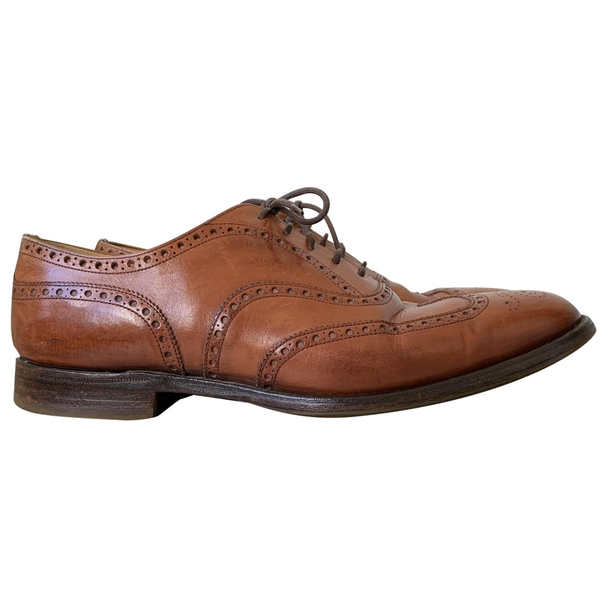 Churchs - Derbies   pour homme en cuir - marron