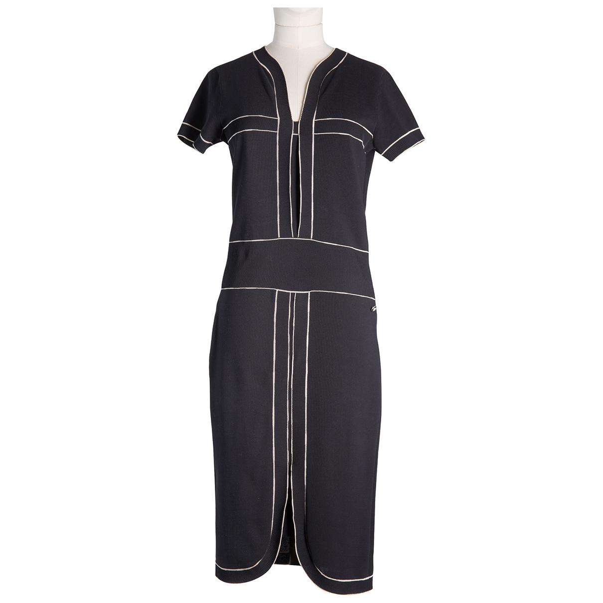 Chanel \N Black Cotton dress for Women 34 FR