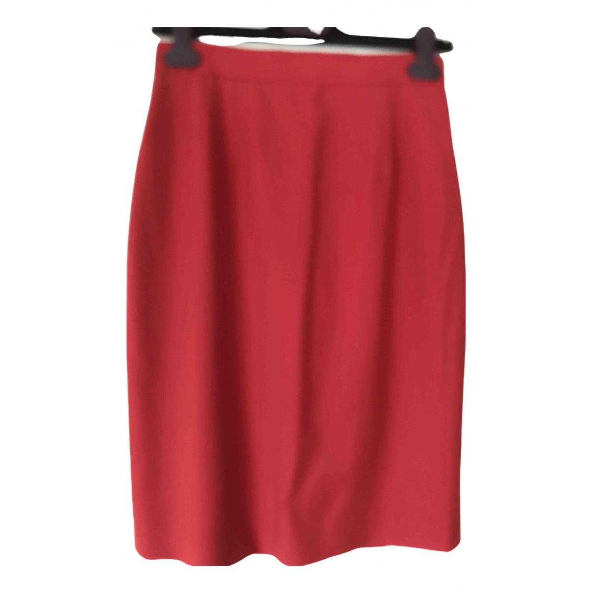 Kenzo N Red Wool skirt for Women 38 FR