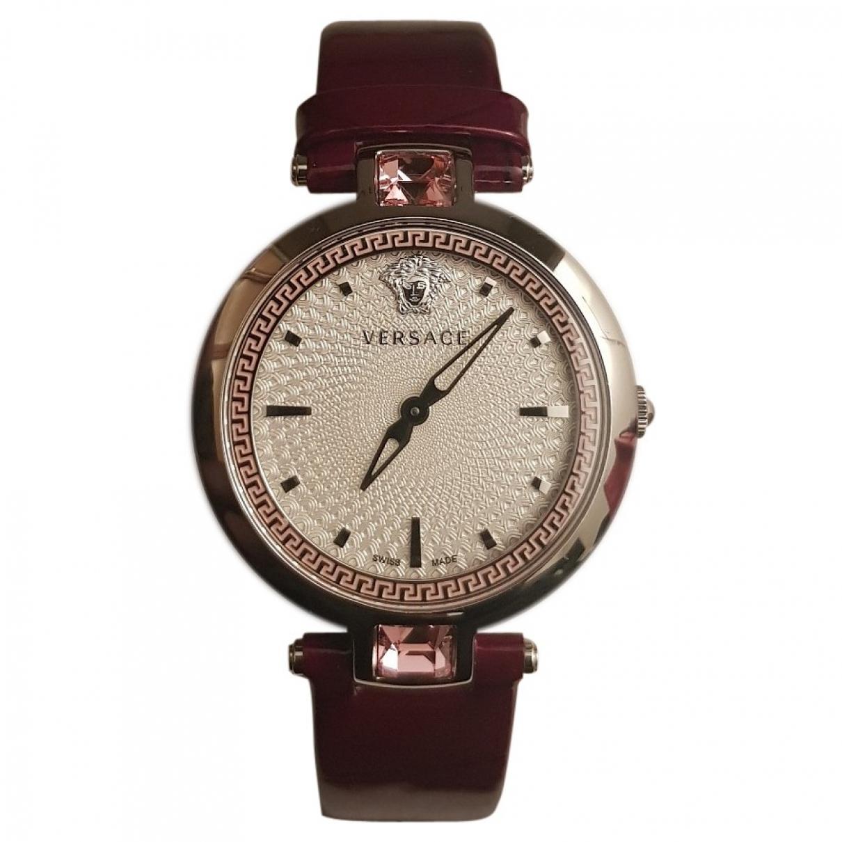 Versace \N Uhr in  Lila Stahl