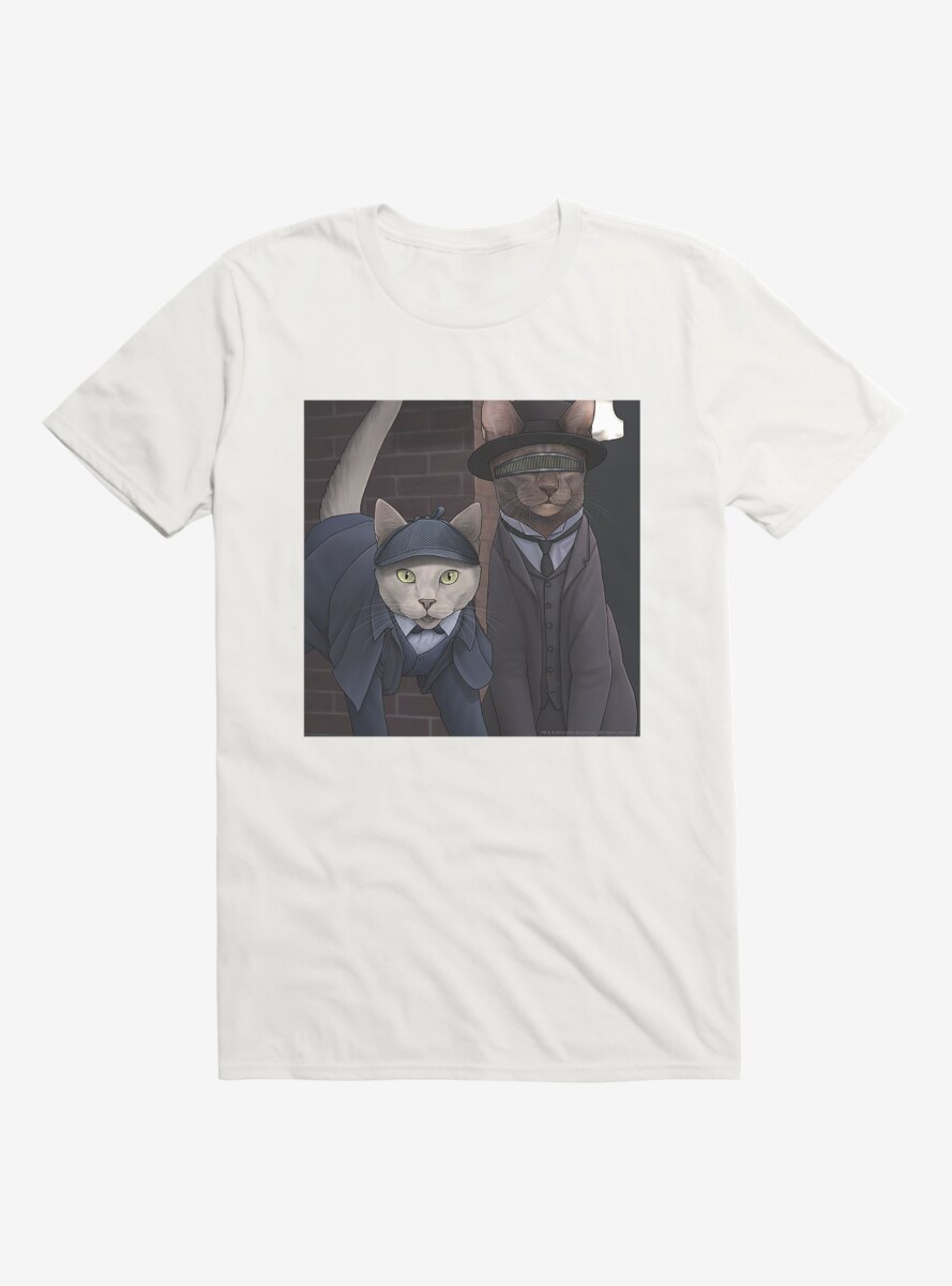 Star Trek The Next Generation Cats Data And Forge T-Shirt