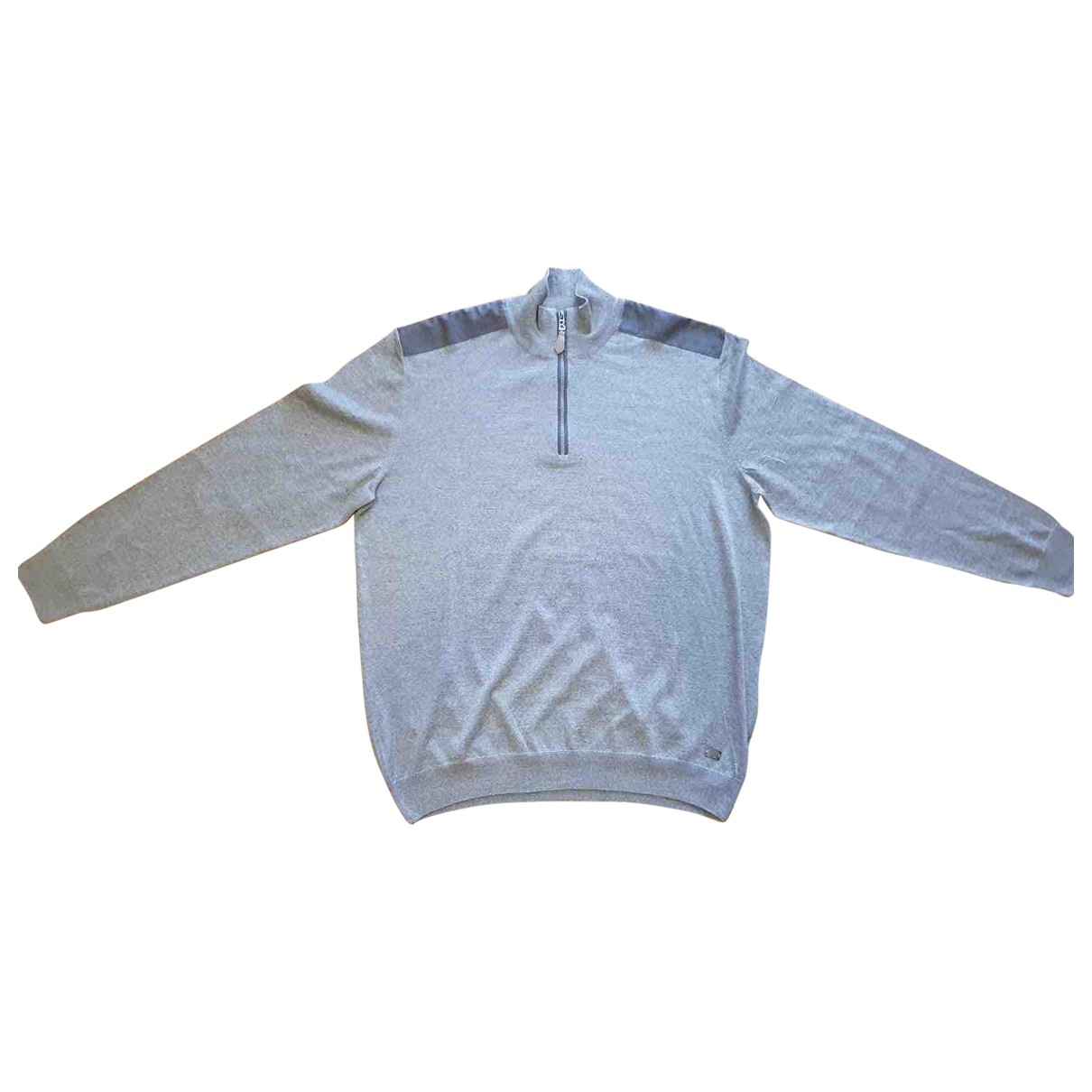 Bogner \N Grey Wool Knitwear & Sweatshirts for Men XXXL International