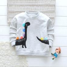 Toddler Boys Random Dinosaur Sweatshirt
