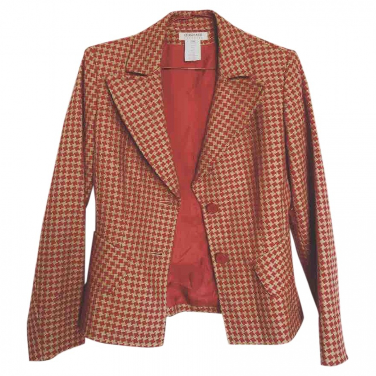 Georges Rech \N Red Wool jacket for Women 38 FR