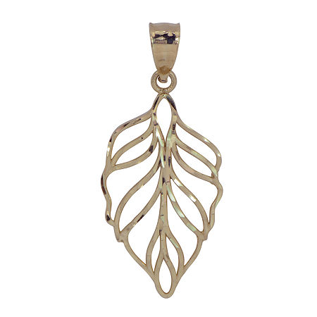 Womens 14K Gold Pendant, One Size , No Color Family