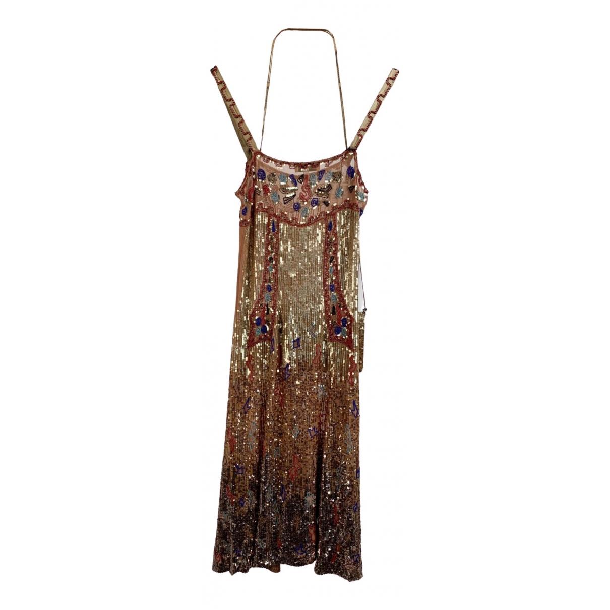 Blumarine - Robe   pour femme en coton - multicolore
