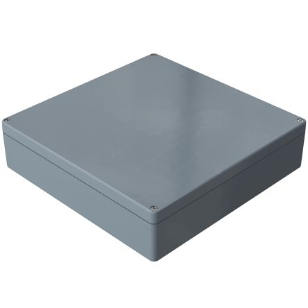 Rose Polyester Standard, Grey Glass Fibre Reinforced Thermoset Polyester, Graphite Enclosure, IP66, 360 x 360 x 91mm
