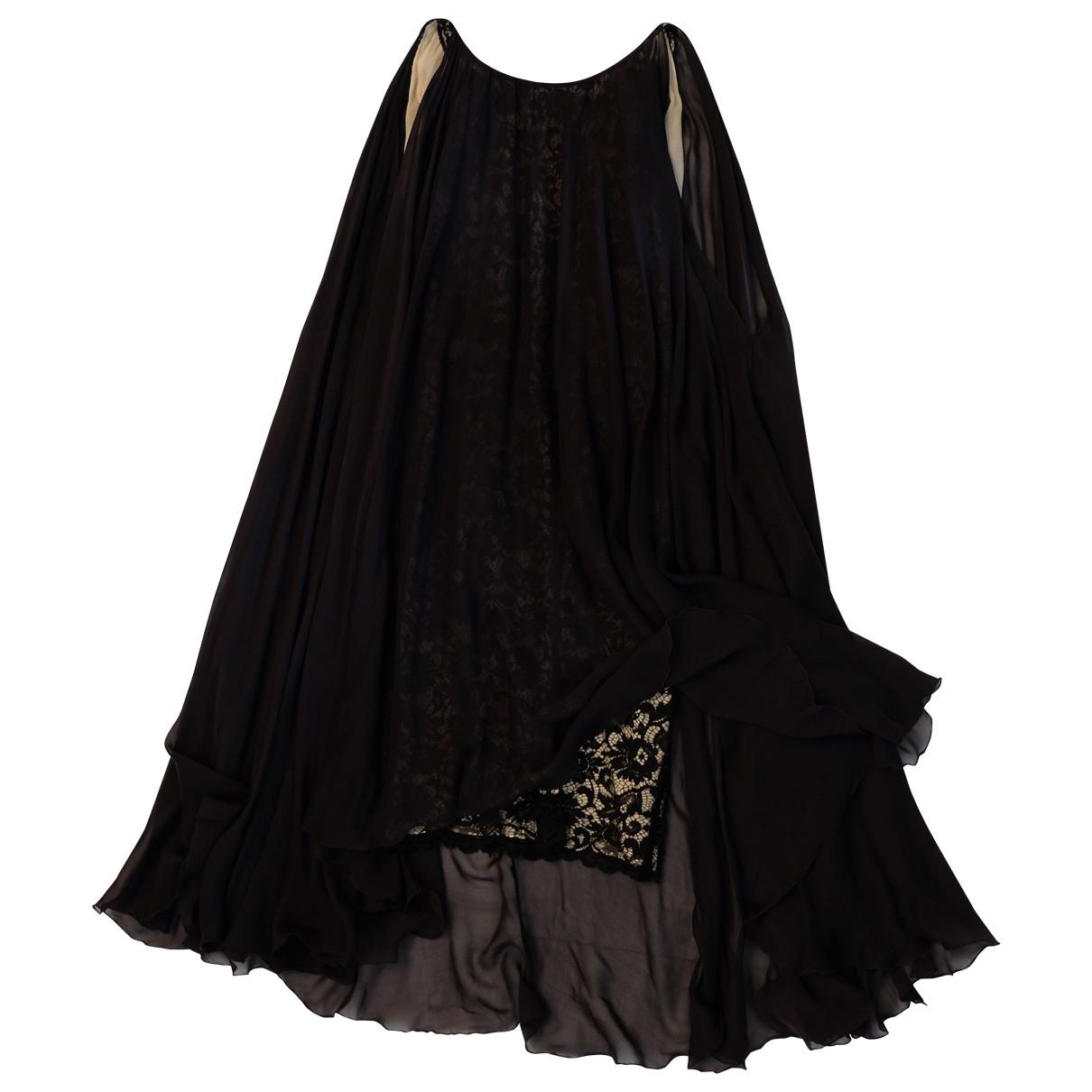 D&g \N Black Silk dress for Women 40 IT