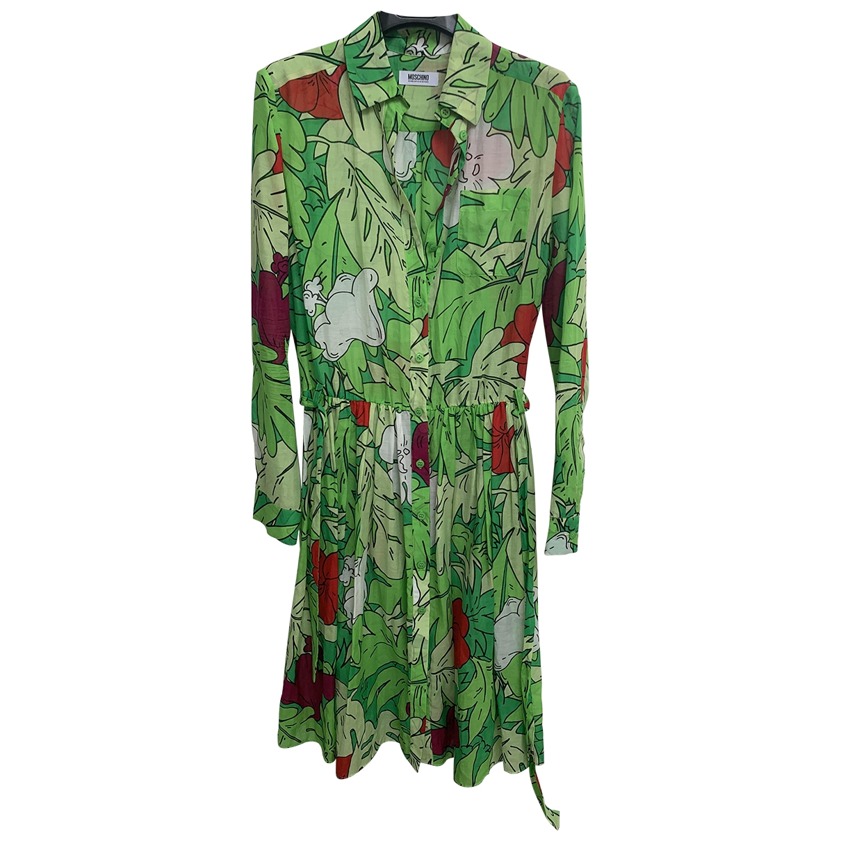 Moschino Cheap And Chic - Robe   pour femme en coton - multicolore