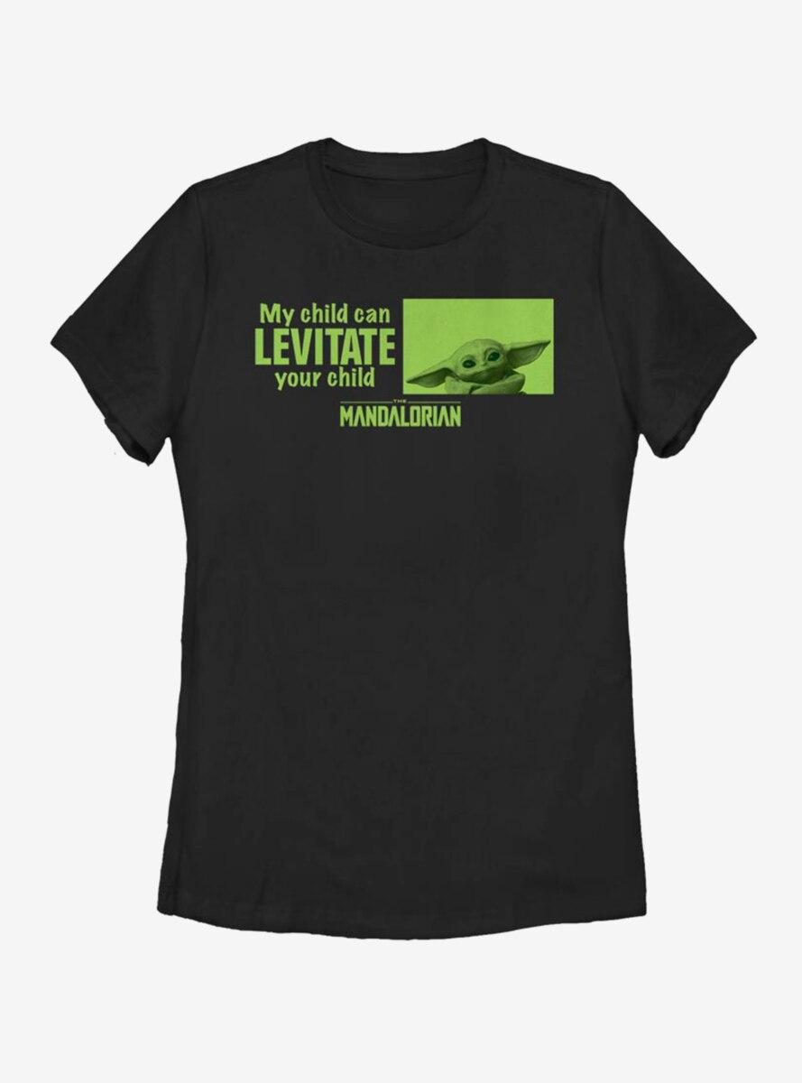 Star Wars The Mandalorian The Child Mine Can Levitate Womens T-Shirt