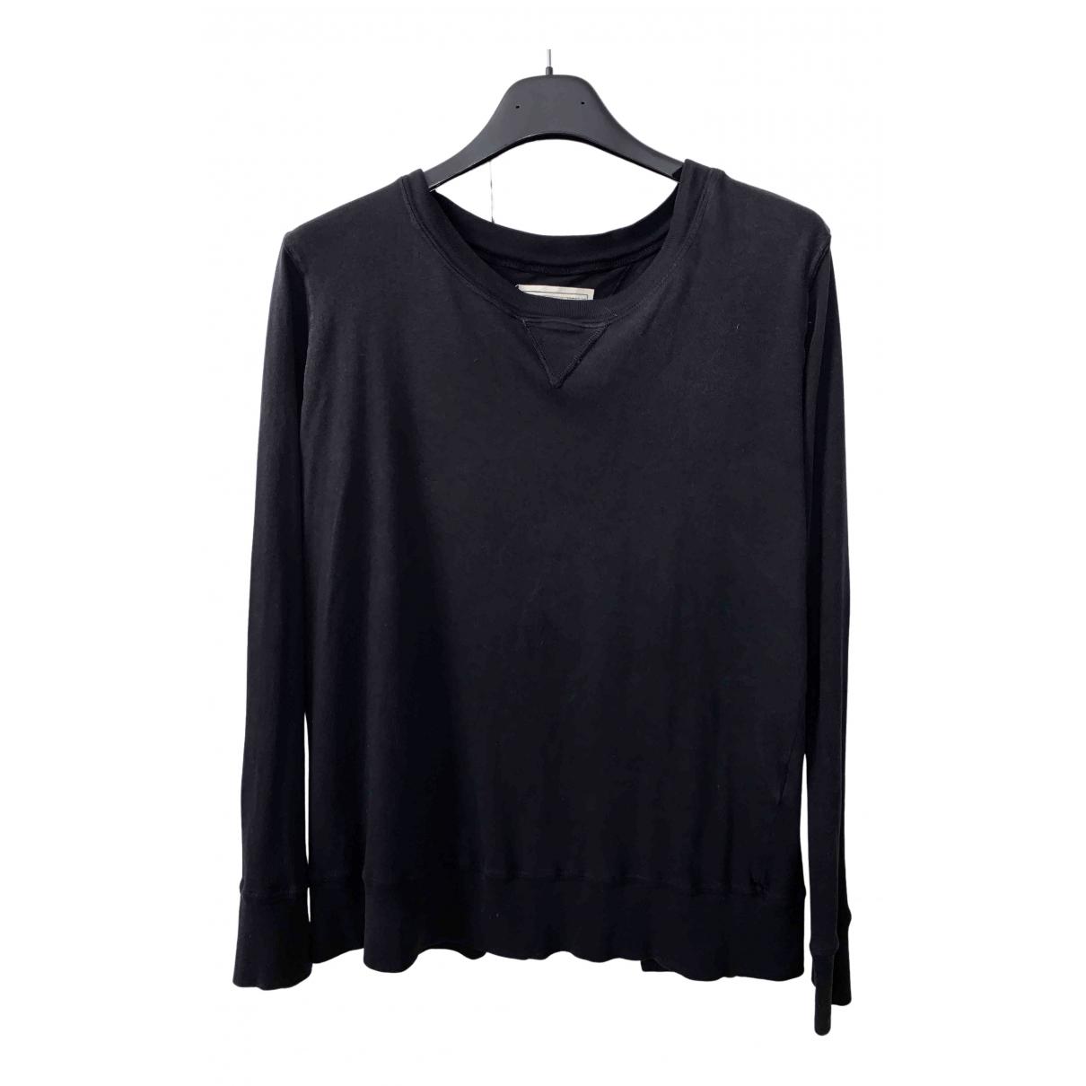 Current Elliott - Pull   pour femme en coton - noir