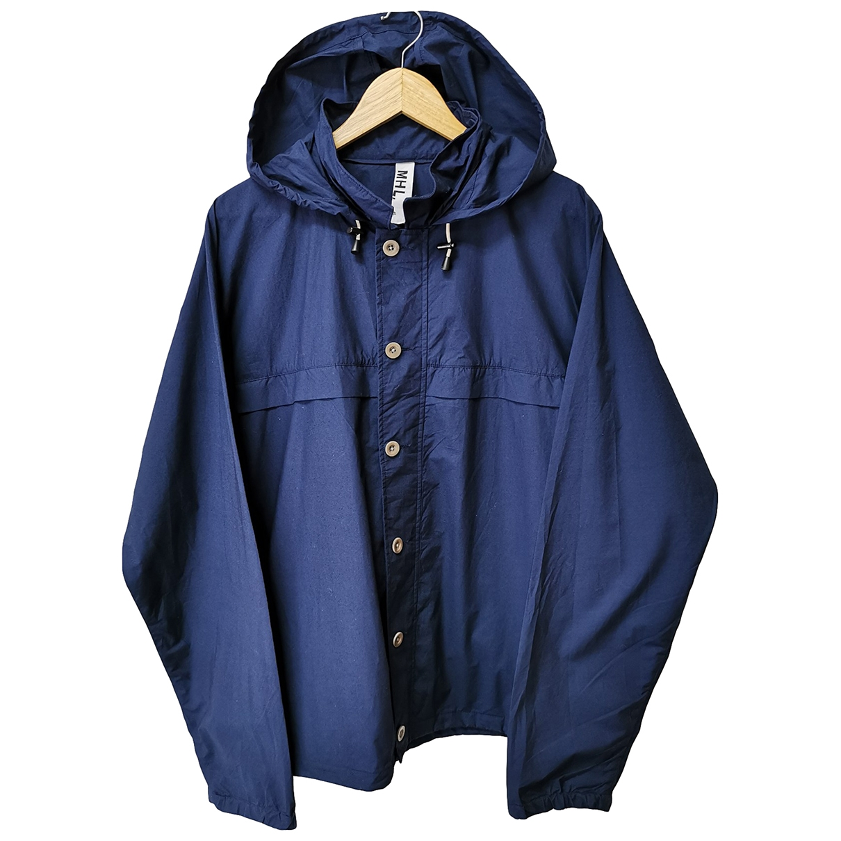 Margaret Howell \N Blue Cotton jacket for Women XL International