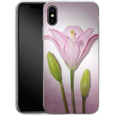 Apple iPhone X Silikon Handyhuelle - Marfuschka III von Marie-Luise Schmidt