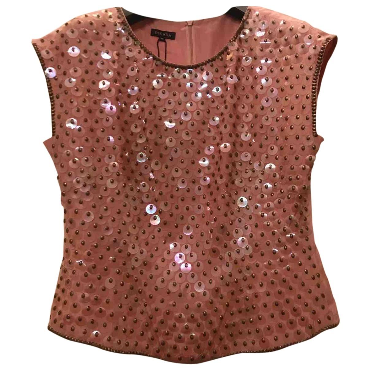 Escada \N Pink Glitter  top for Women 38 IT