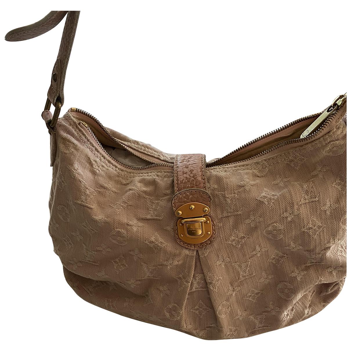 Louis Vuitton N Pink Denim - Jeans handbag for Women N