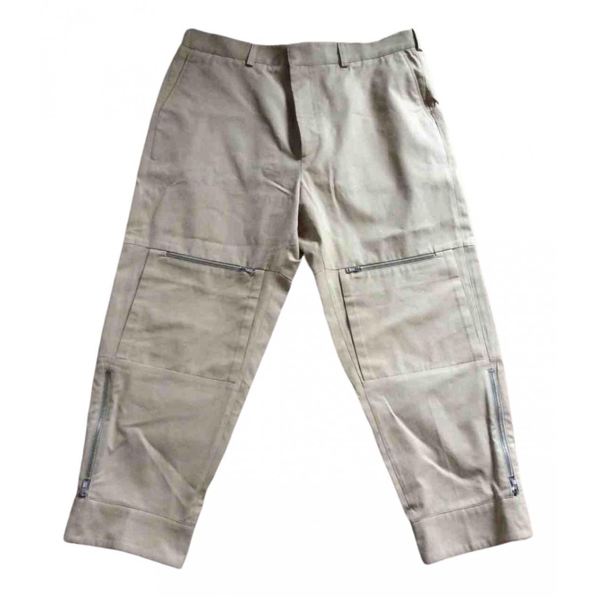 Stella Mccartney \N Beige Cotton Trousers for Men 54 IT
