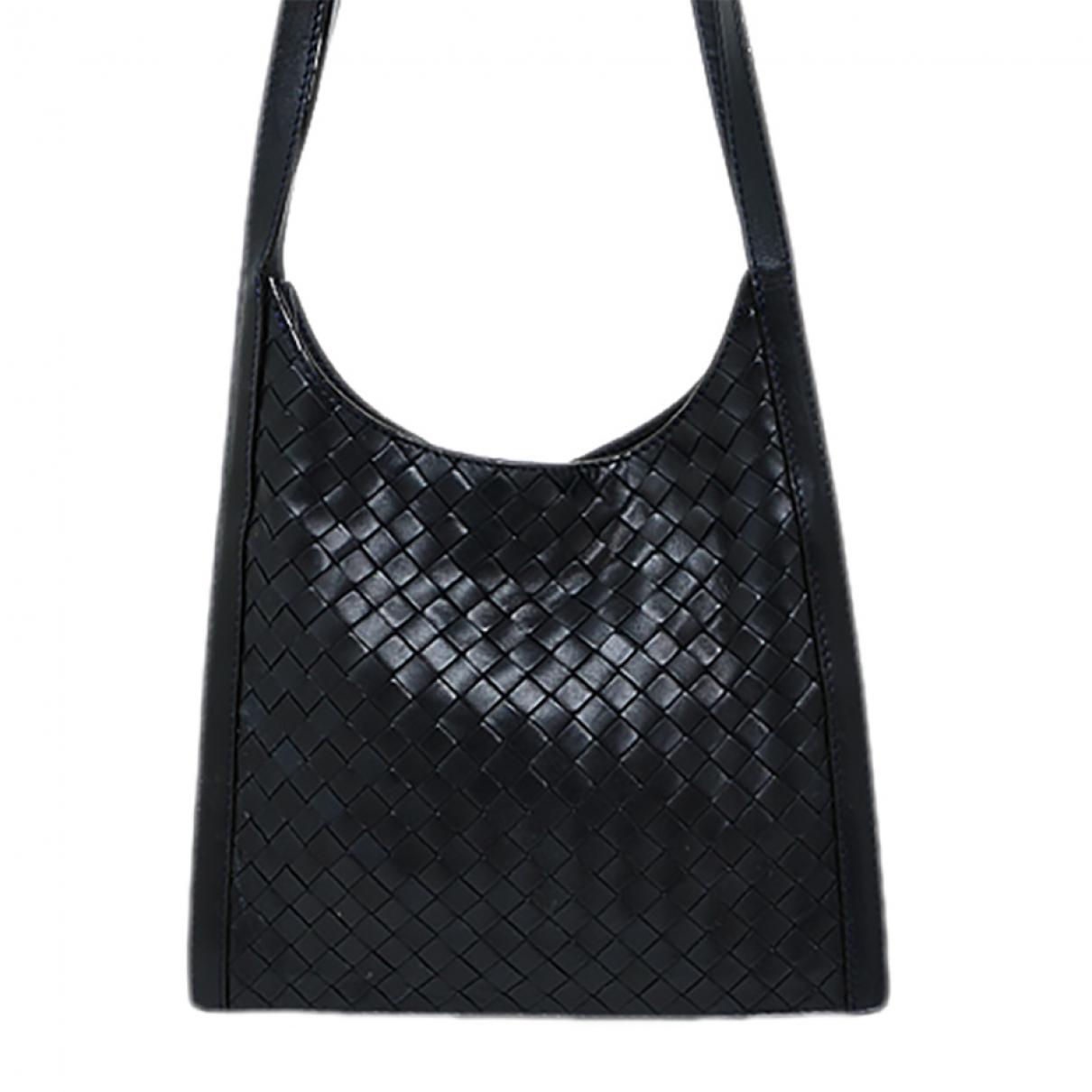 Bottega Veneta \N Navy Leather handbag for Women \N