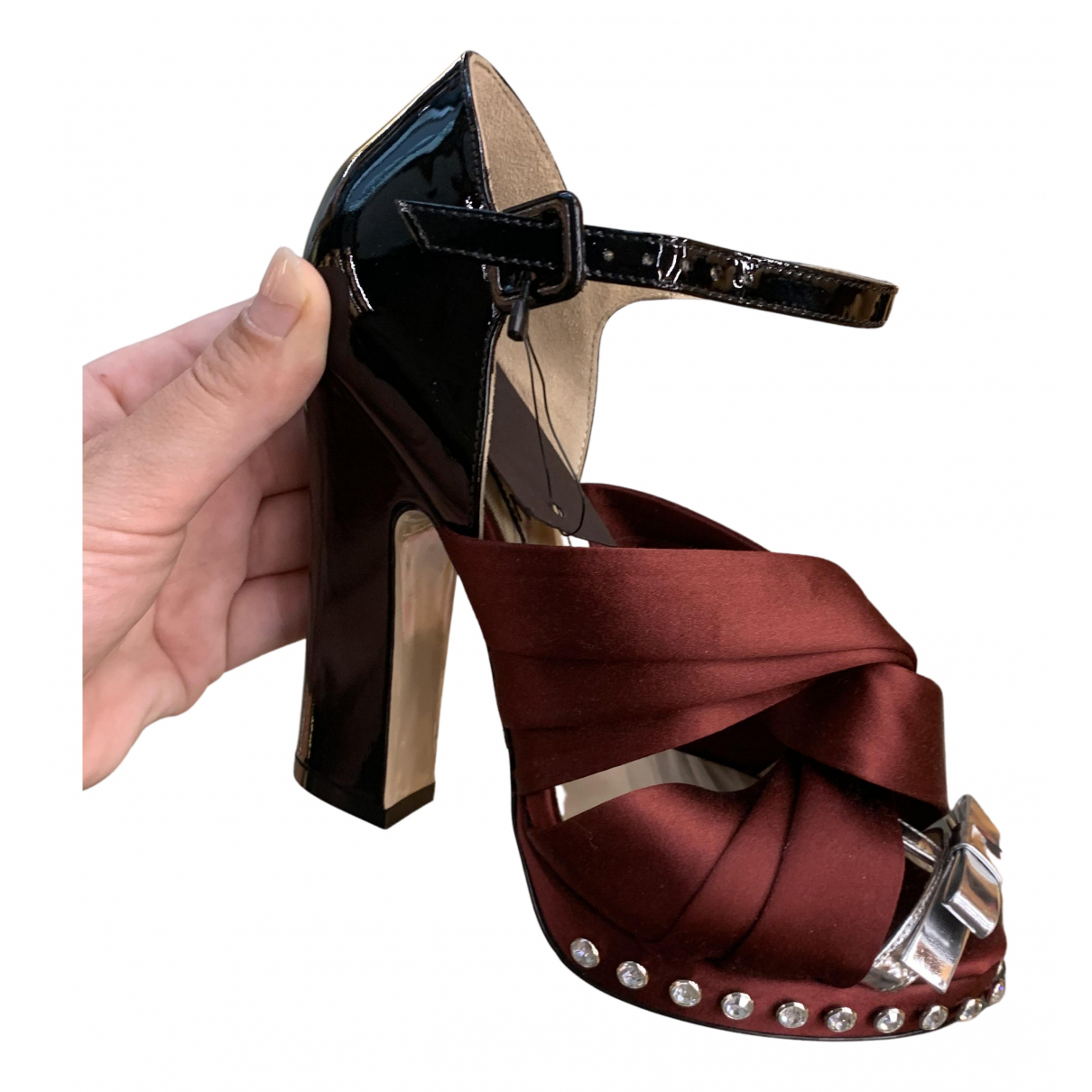 N°21 - Escarpins   pour femme en cuir