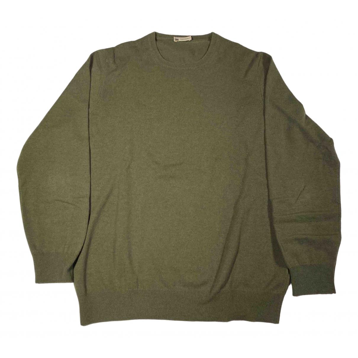 Colombo \N Pullover.Westen.Sweatshirts  in  Gruen Kaschmir
