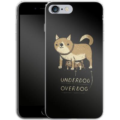 Apple iPhone 6s Plus Silikon Handyhuelle - Underdog Overdog von Louis Ros