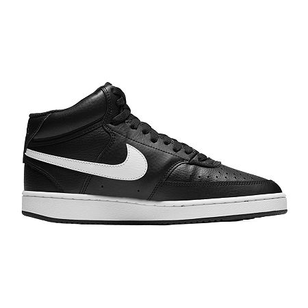 Nike Court Vision Mid Womens Basketball Shoes, 8 1/2 Medium, Black