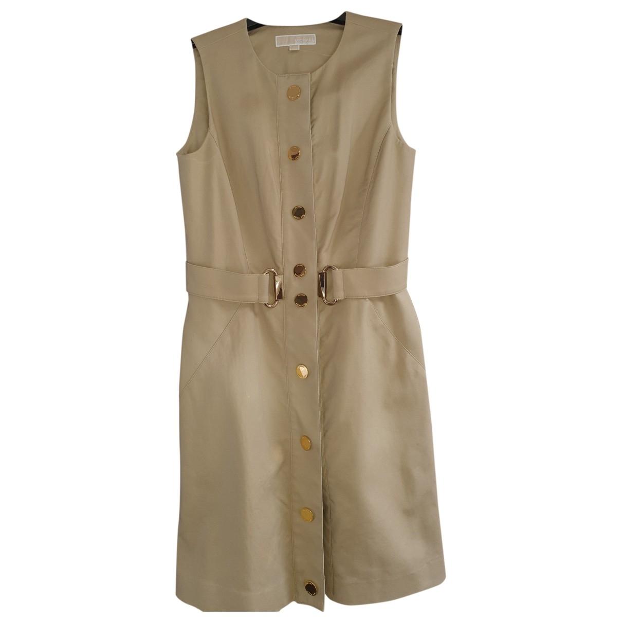 Michael Kors \N Camel Cotton dress for Women 8 UK