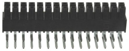 Samtec , IPS1 2.54mm Pitch 30 Way 2 Row Right Angle PCB Socket, Surface Mount, Through Hole Termination