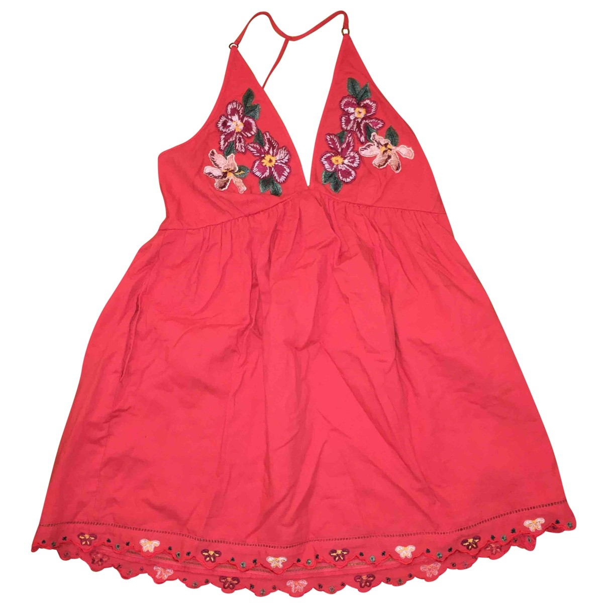 Free People - Robe   pour femme - rouge