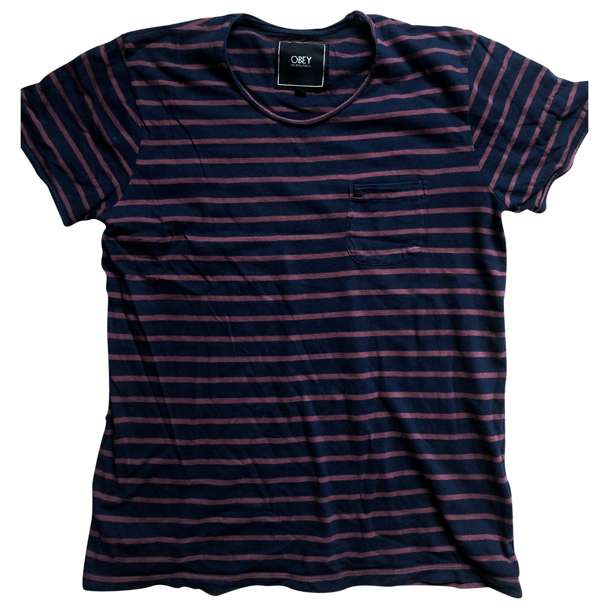 Obey \N Navy Cotton T-shirts for Men M International