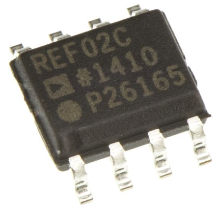 Analog Devices REF02CSZ, Fixed Series Voltage Reference 5V, ±1.0 % 8-Pin, SOIC