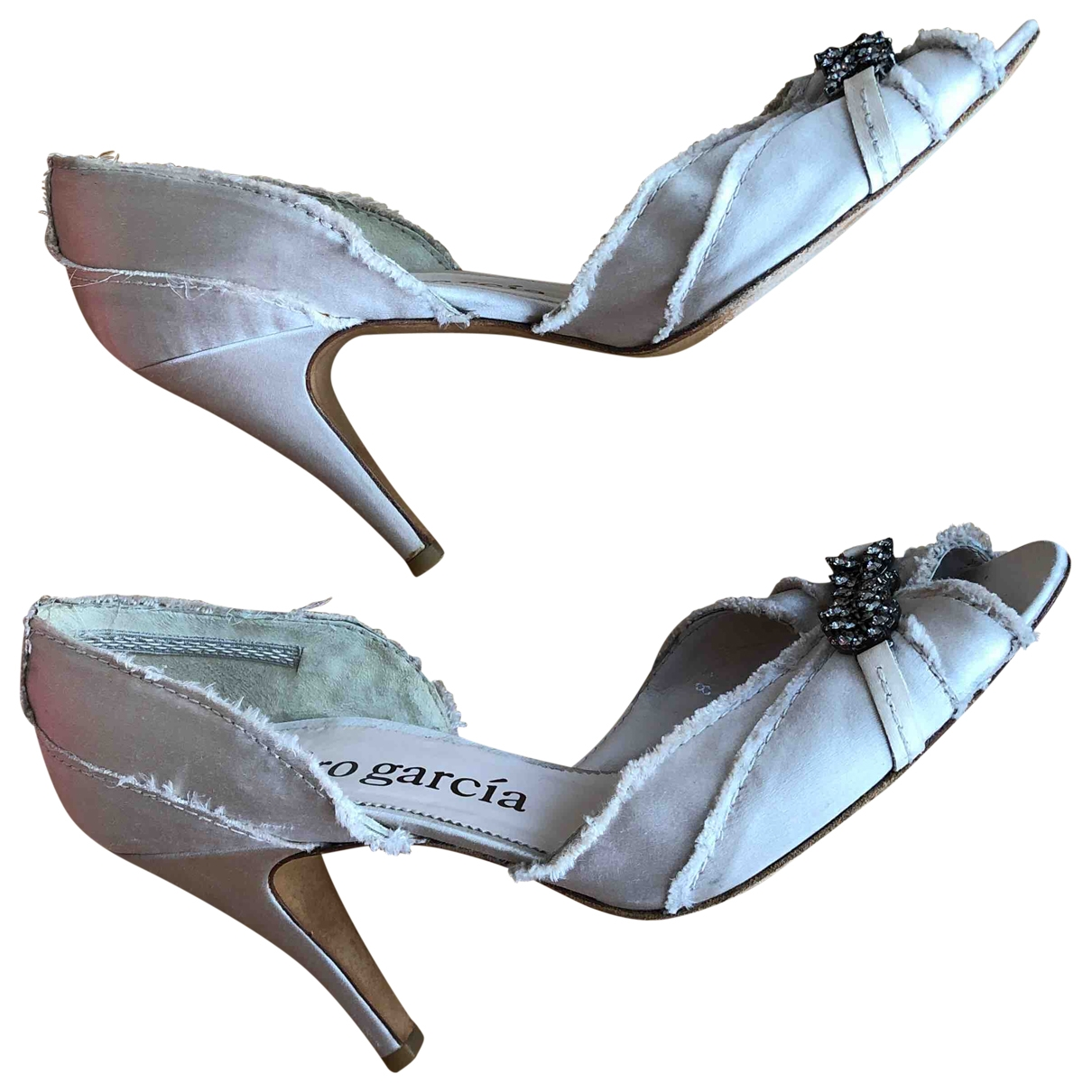 Pedro Garcia \N Tweed Heels for Women 39.5 EU