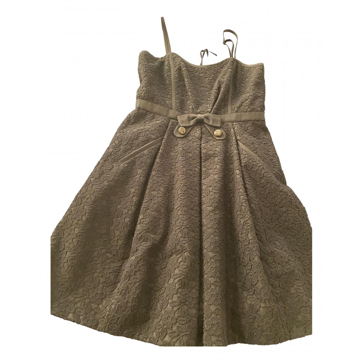 Marc By Marc Jacobs \N Kleid in  Schwarz Wolle