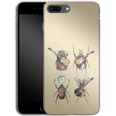 Apple iPhone 7 Plus Silikon Handyhuelle - Meet The Beetles von Eric Fan