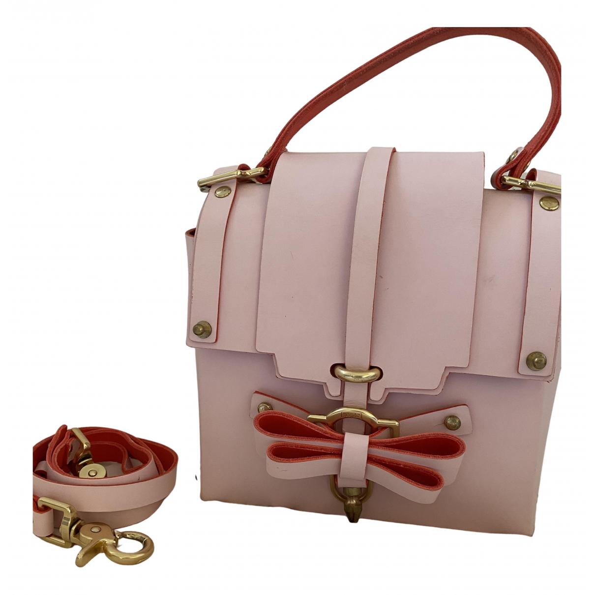 Niels Peeraer \N Handtasche in  Rosa Leder