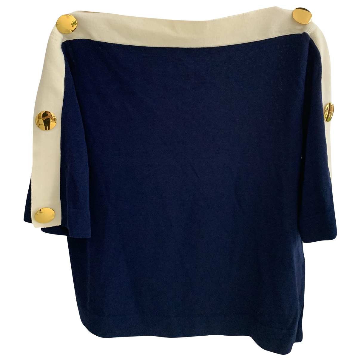 Tory Burch \N Pullover in  Marine Polyester